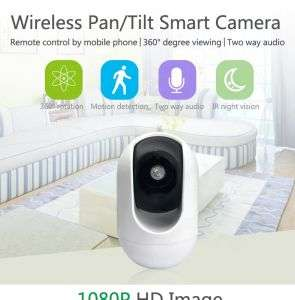 Two-way Audio Baby Crying Detection 1080p Full Hd Wifi Cctv Camera Indoor Security Surveillance Wireless Ip Camera
