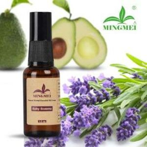 Baby essential oil soothes eczema, itching, diaper rash, and moisturizes the skin continuously for 8 hours