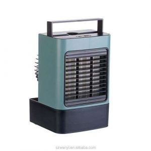 Best Price Personal Mini Air Conditioner Fan USB Rechargeable Ice Water Evaporating Portable Mini Standing Air Cooler Fan