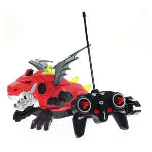 Spray with Light with Sound with Rechargeable Battery Remote Control Dinosaur for Kids Age 8+