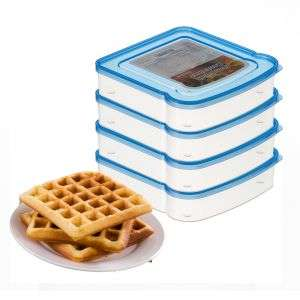 Microwavable disposable plastic takeaway clear sandwich container sandwich box