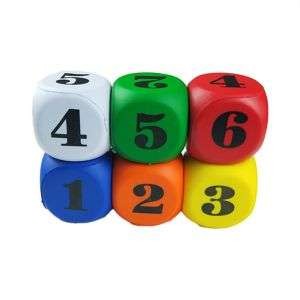 custom fashion entertainment children toy dice anxiety decompression 6 sides dice
