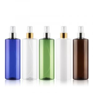 High Quality Customized Matte Black Trigger Empty Cleaner Spray Bottle 500ml