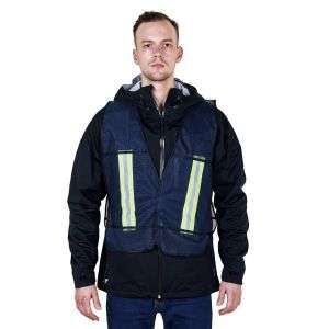 High Visibility 100% Polyester Mesh Fabric Safety Vest R140