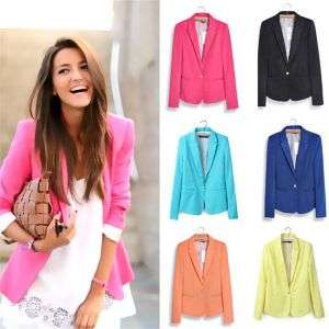 Multi Color Hight Quality Slimming Leisure Outwear Women Suits