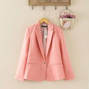 Orange Color Hight Quality Slimming Leisure Outwear Women Suits
