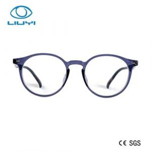 Round Popular and Fashion Tr90 Plastic Optical Glasses Eye Wear Design for Woman Model