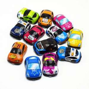 Hot selling promotion soft PVC car toy capsule toy