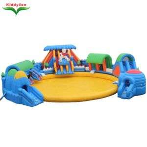 inflatable water park inflatable water toys for adults and kids with low price