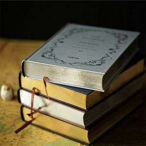Custom Thick Journal Notebook Printing With Gilt Edging