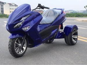 Large Three-Wheeled Battery Car 1500W Adult Domineer Cruiser Electric Tricycle Scooter 72V Naked Car 65km/H Powerfull Motorcycle Electric off-Road Scooter 222