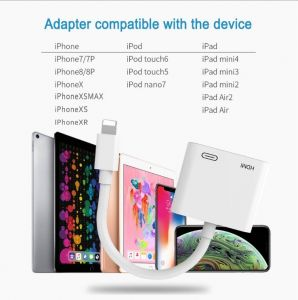 8pin to HDMI / HDTV TV Digital Cable Adapter for Apple iPhone 5 5s 6 6s iPad 8pin Digital AV Adapter for iPhone 7 7plus