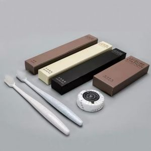 Hotel Disposable Amenity Biodegradable 6 Products Toiletries Luxury Hotel Amenities Set