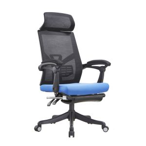Leisure Home Office Chair Netting Staff Chair Can Be Laid on The Feet