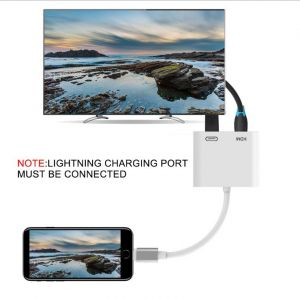 Lightning to HDMI Cable for iPhone