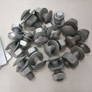 M16 Round Oval and Mushroom Head Screw Fasteners Used for Guardrails