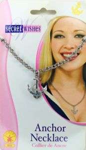Anchor pendant with Necklace - Secret Wishes style