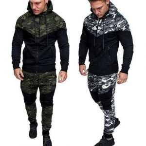 Men′s Fall Winter Bodybuilding Training Hooded Jacket Casual Sports Wear Factory Can ODM Service