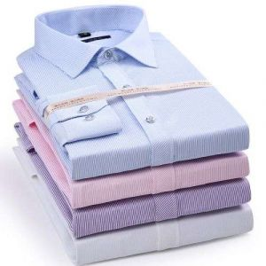Men′s Striped Oxford Spinning Comfortable Breathable Design Dress Shirts