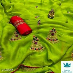 kashvi graceful saree
