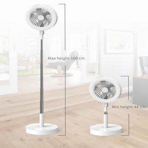 Multifunctional Live Fill Light Retractable LED Fan Light