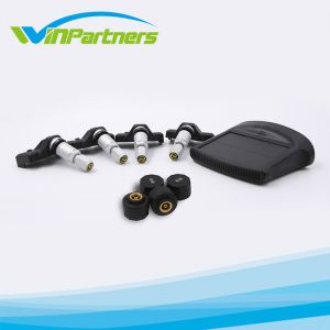 Solar Power TPMS Wireless Tire Pressure Monitoring System Car Tyre Pressure Alarm System with LED Color Display