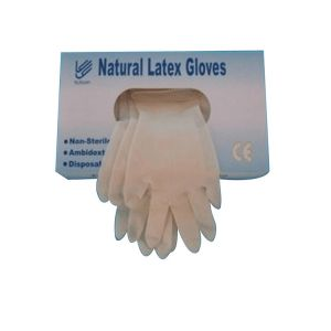 Natural Rubber Powder Free Non Medical Grade Industrial Grade Disposable Latex Gloves