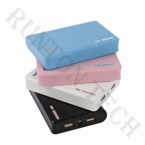 New Arrival Wallet Style Multi  Power Bank with LED Light Rt-U10
