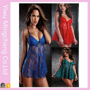 New Fashion Multi Color  Sexy Lace Sleepwear Pajamas