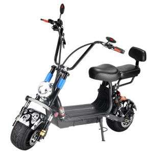 100-240V 1000W Little Harley Battery Car Electric Bicycle Scooter Speed Fast Scooter High Quality Scooter Can Be Mobile Rechargeable Lithium Battery