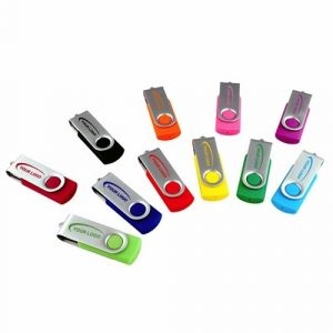 OEM Logo USB Factory Swivel USB Memory Stick