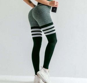 Peach Hip Quick-Drying High Waist Fitness Yoga Green  Color  Pants