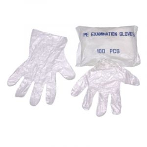 Plastic Hand Gloves Disposable Protective PE Gloves