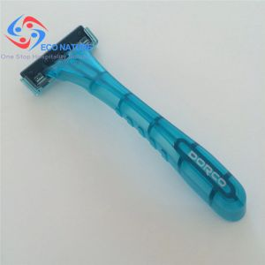 Plastic PP Making Hotel Travel Twin Blades Disposable Shaver