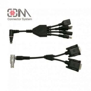 Qm F Series Cable Assembly for Waterproof Push Pull Connector