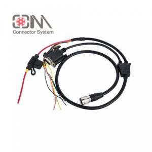 Qm Hr10 Series Plug Assembly Cable for Push Pull Connector