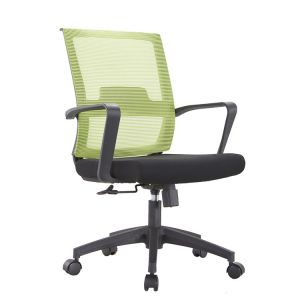 Recreational Chair Chair Netting Ergonomic Swivel Green Color  Chair Staff Meeting Office Chair