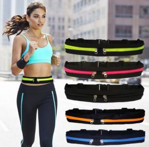 Running Pouch Personal Security Waist Belts Waterproof Bag