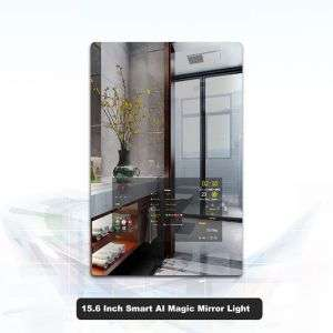 Smart Ai Magical white LED Mirror Light for Bathrooms & Living Rooms
