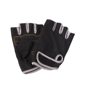 Sports Gloves Form-Fitting Stretch Mesh Synthetic Fabric at Palm