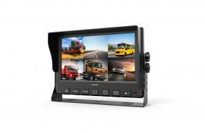 9inch 6CH Mobile DVR Monitor with GPS 3G 4G WiFi G-Sensor Optional for Bus/Truck/Taxi/Vehicles