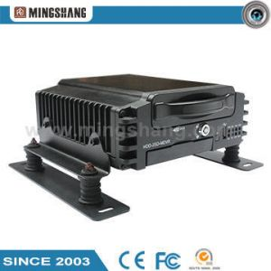 Support 1HDD and Dual SD Card DVR GPS Mobile DVR
