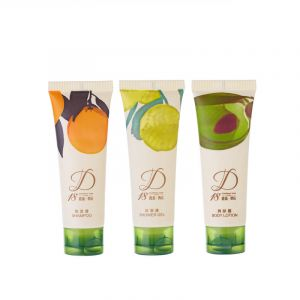 Eco Friendly Biodegradable Hotel Products Corn Starch Disposable Hotel Shampoo 30ml Tube Made From Corn Starch