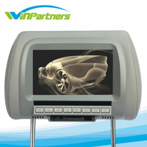 TFT LCD Color Screen, Car Monitor Screen with Pillow