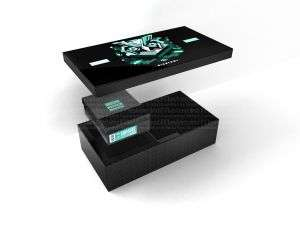 Good Quality Hot Stamping Logo Watch Combo Packaging Box