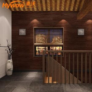 Waterproof Sxp Wood Grain Self-Adhesive Floor Covering