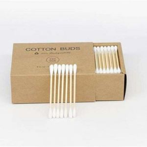 Wholesale Bamboo Cotton Buds Used for Lips/Ear/Face/Body Clean