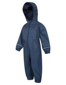 Wholesale Kids/Toddler/Childrens Waterproof Coat Puddle Rain Suit All in One PVC Raincoat