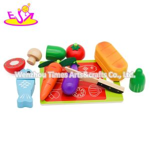 Wholesale Pretend Play Wooden Fruit Cutting Toys for Kids W10b357