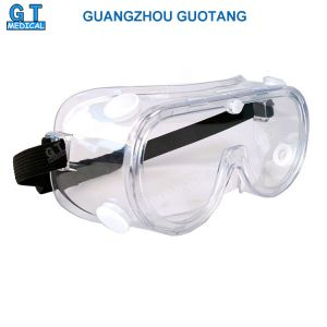 Windproof Clear Safety Lens Chemical Splash Goggles